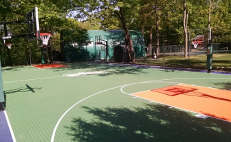 Day Camp Basketball Court