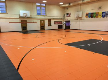 Livingston Gym Floor