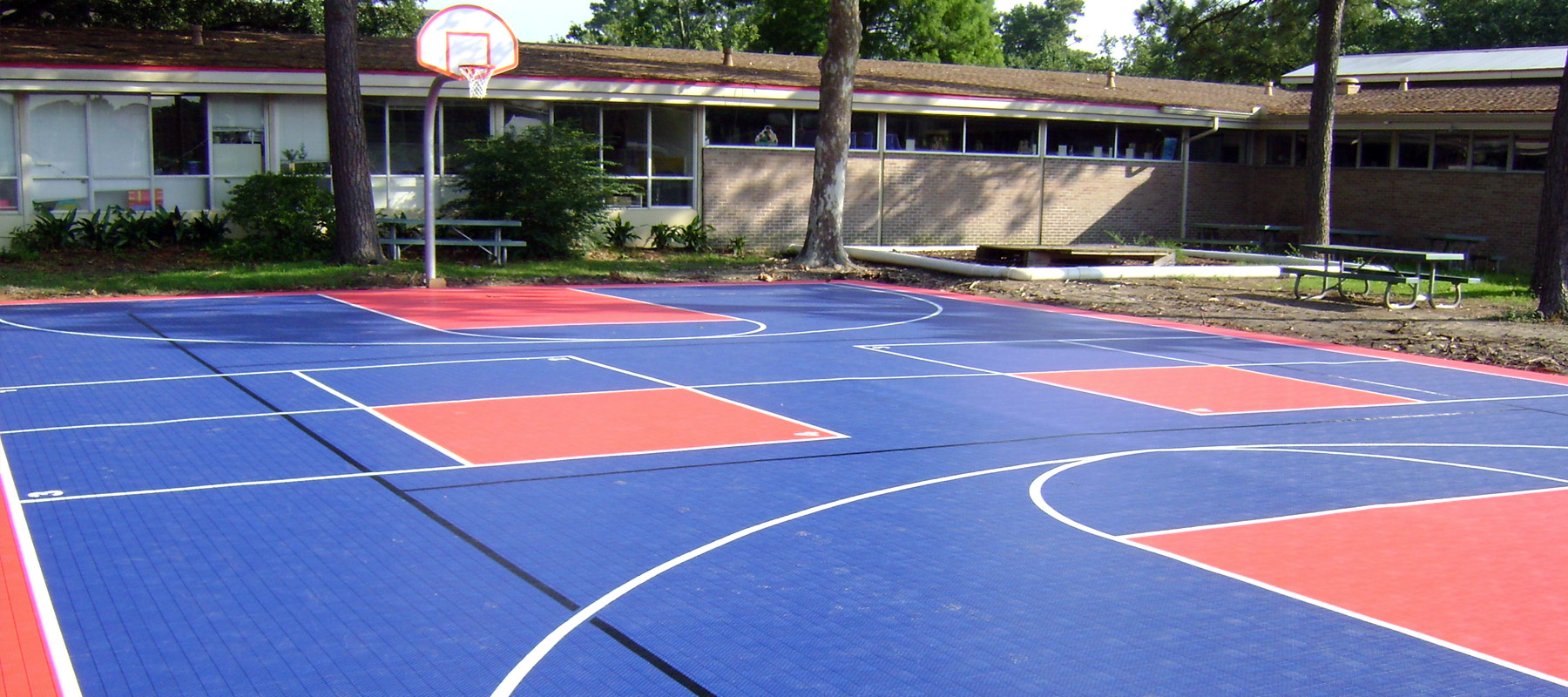 Sports Courts Tiles Court Flooring