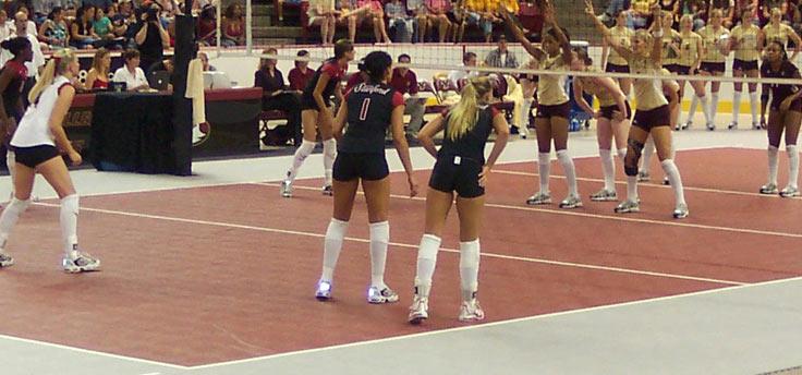 Volleyball Flooring For Indoor Volleyball Courts 187 Mateflex