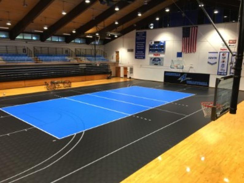 Wood Gymnasium Flooring Vs Modular Tile