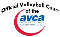 Official Volleyball Court of the American Volleyball Coaches Association