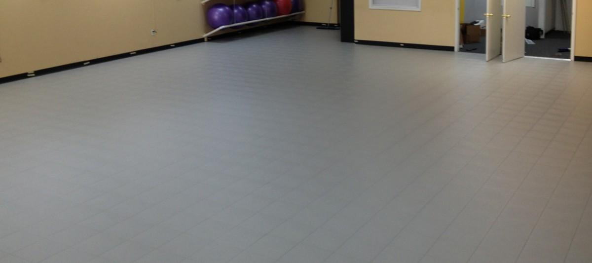 Aerobics Flooring Exercise Room