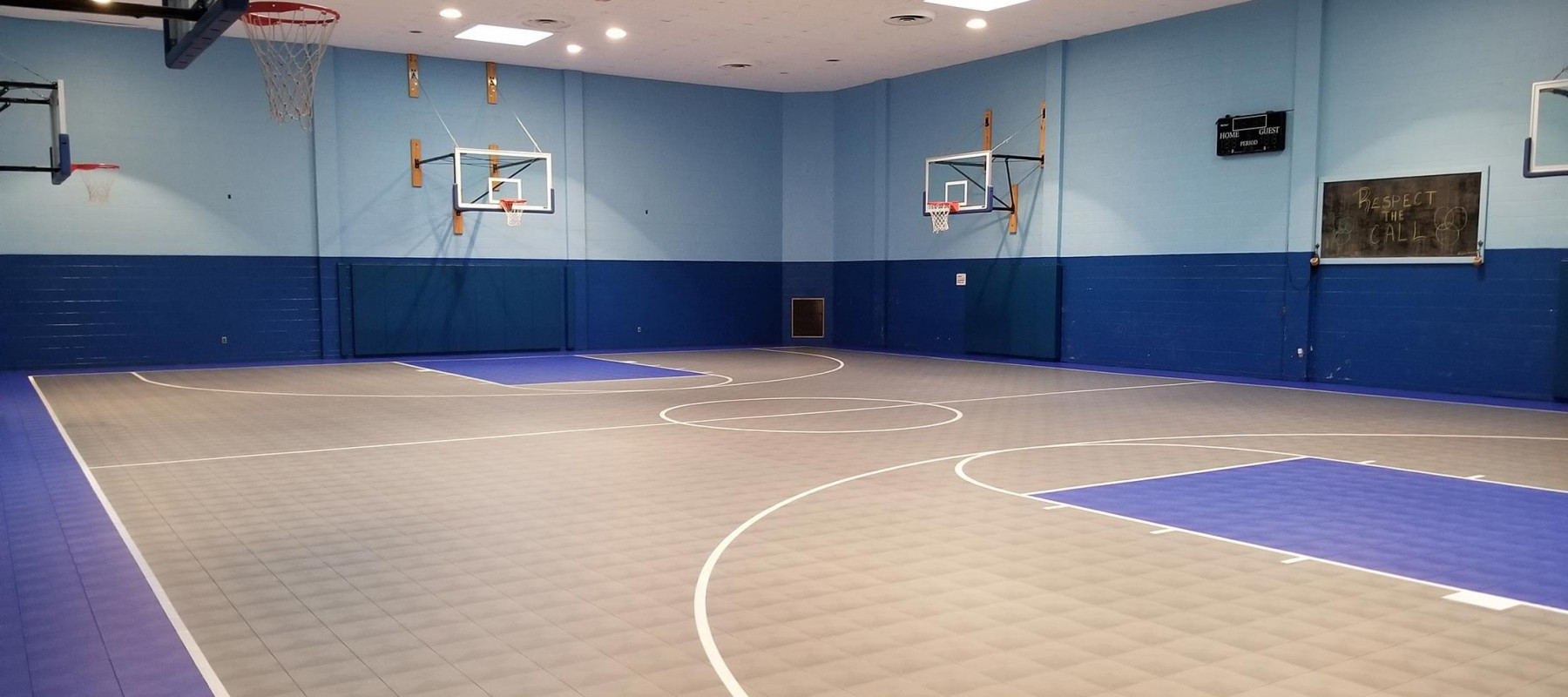 Sports Flooring For Outdoor Basketball Courts Tennis Courts